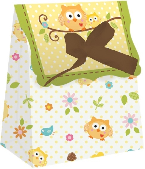 """Happi Tree Babyshower"" 12 goody bags"