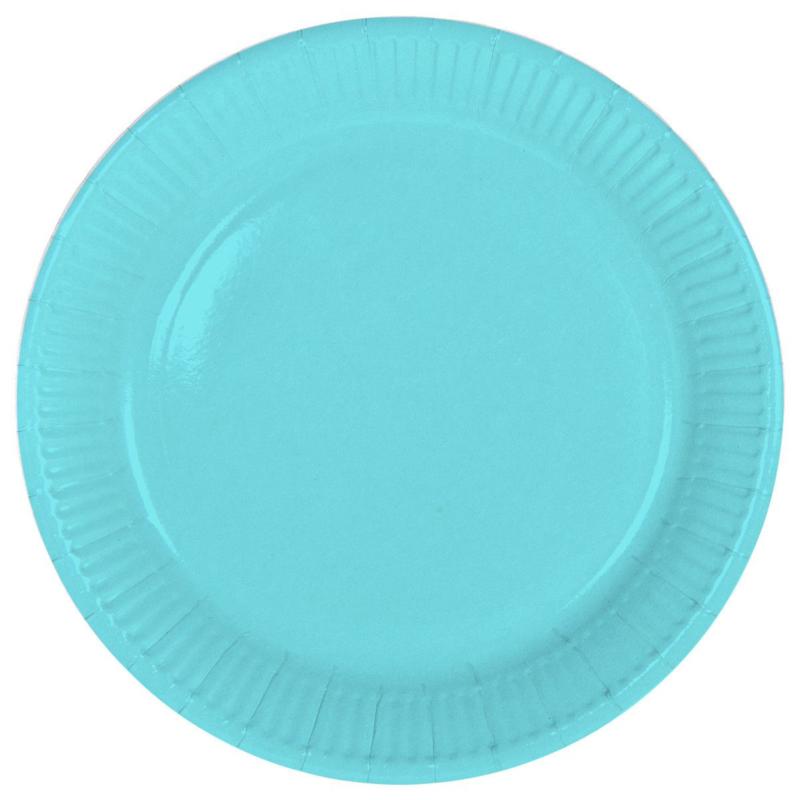 """""""Blauwe"""" lunch bordjes"""