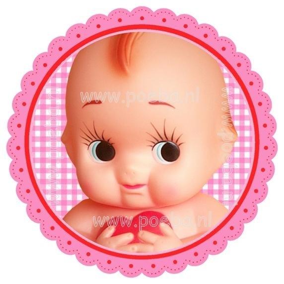 Poeba's Baby Girl strijk-applicatie