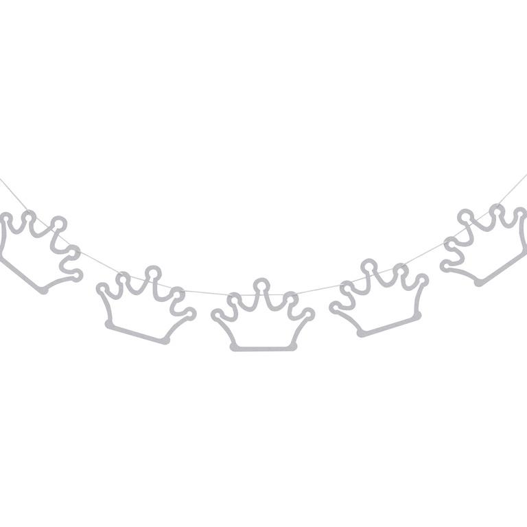 """""""Princess Perfection"""" kroontjes glitter slinger"""