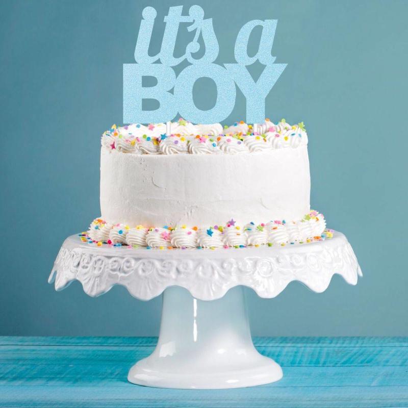 """""""It's A Boy"""" taarttopper"""