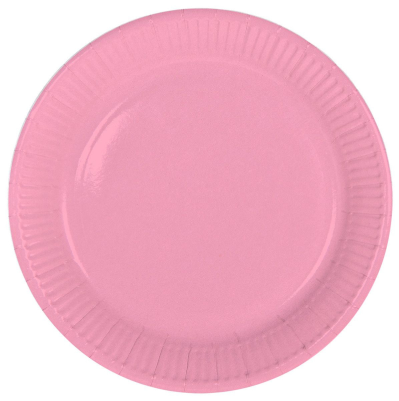 """Roze"" lunch bordjes"