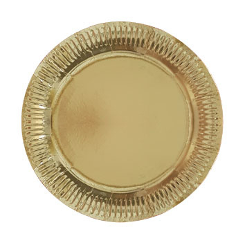 """""""Glittering Gold"""" lunch bordjes"""