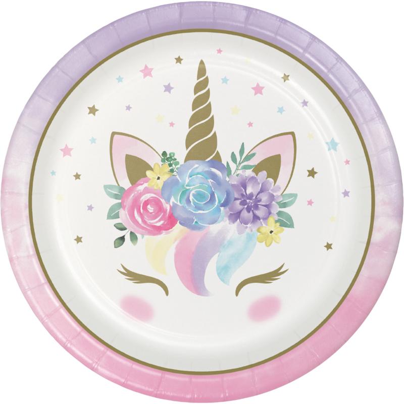 """Unicorn Baby' lunch bordjes"