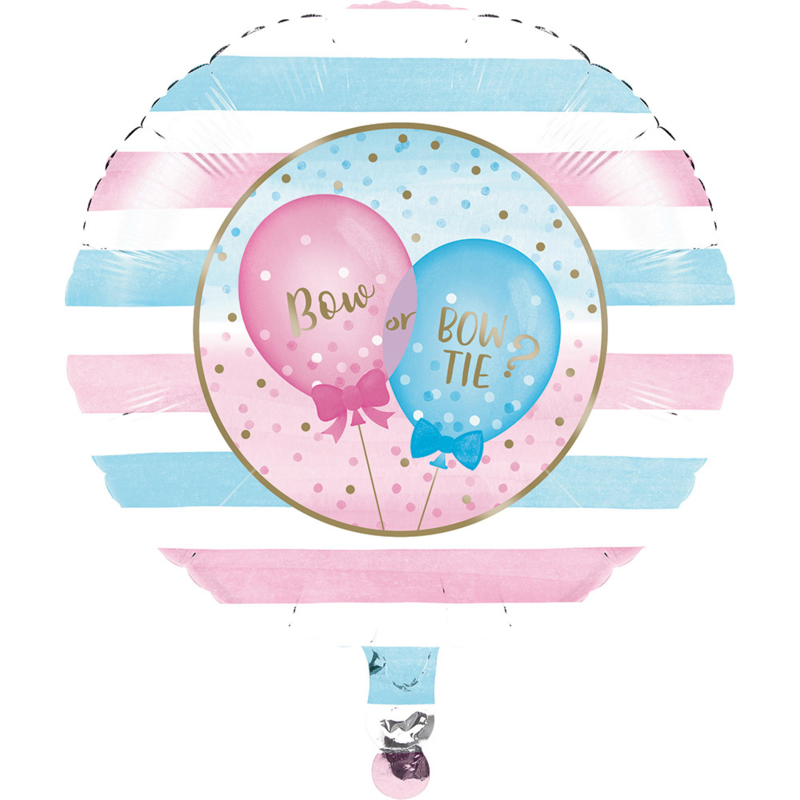 """Gender Reveal"" folie ballon (leeg!)"