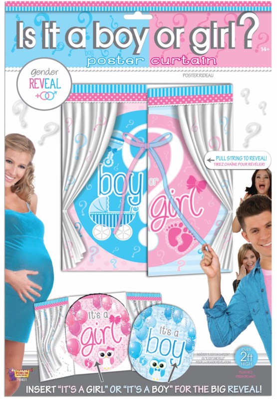 Boy? or Girl? raam poster spel