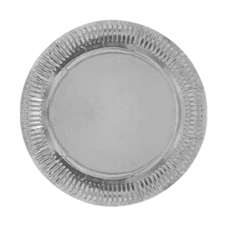 """""""Sparkling Silver"""" lunch bordjes"""