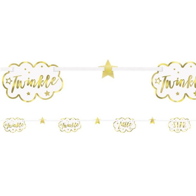 """Twinkle Twinkle"" Babyshower slinger"