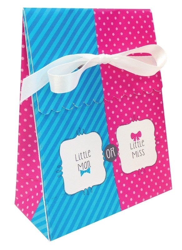 """Little Man or Little Miss""  12 goody bags"