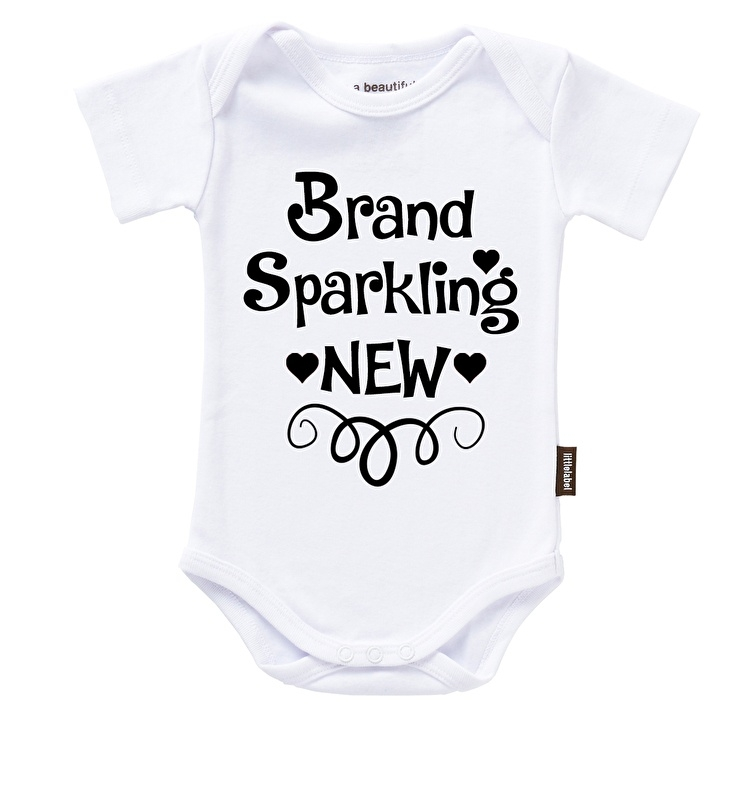 """Brand Sparkling New"" strijk applicatie"