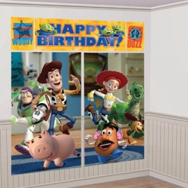 Toy Story - Buzz Lightyear / feest muurdecoratie