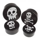 Piraten skull Snack bakjes set
