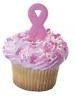 DD Pink Ribbon cake versiering