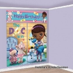 DOC Mc Stuffins  / muur decoratie