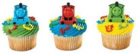 Cupcaktopper / Thomas en zijn vriendjes
