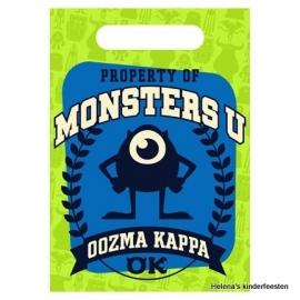 Monsters University / kinderfeest uitdeel zakjes