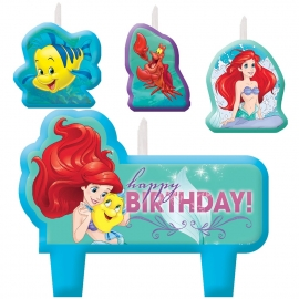 Ariel, de kleine zeemeermin - Dream / feest kaars