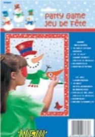 Kerst  / sneeuwpop spel