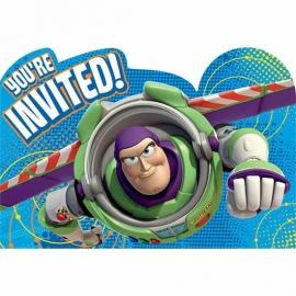 Toy Story - Buzz Lightyear / feest uitnodigingen