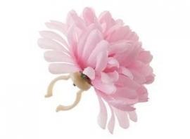 Fietsstuur bloem |  roze
