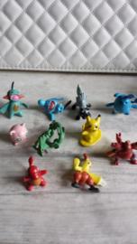 Pokemon / mini figuurtjes  - poppetjes/ 10 stk / nr3
