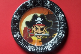 Piraat / feest bordjes