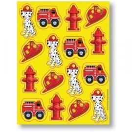 Brandweer / feest stickers