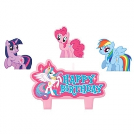 My Little Pony / taart kaarsjes