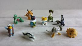 Pokemon / mini figuurtjes / 10stk /nr1