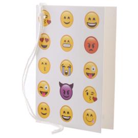 Cadeaukaartje / emoji - smiley