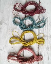 Katoenkoord / set 4 kleuren