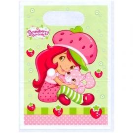 Strawberry Shortcake  / cadeau kinderfeest zakjes