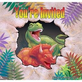 Dino Blast / uitnodigingen