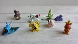 Pokemon / mini figuurtjes - poppetjes / 8stk / nr6