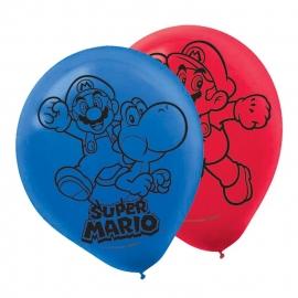 Super Mario  / feest ballonnen