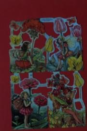 ME 2006 Poezie plaatjes bloemen elfjes rood