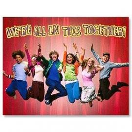High School Musical / uitnodigingen