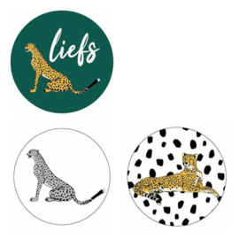 Sticker sluitzegel set | wild | 15stk