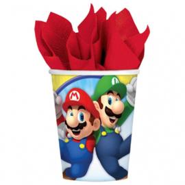 Bekers / Super Mario Bros / kinderfeestje