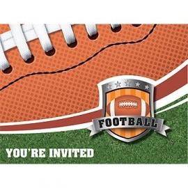 Uitnodigingen / feest  American Football