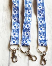 Sleutelkoord / Holland / blauw