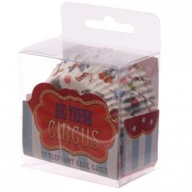 Cupcake vormpjes Circus