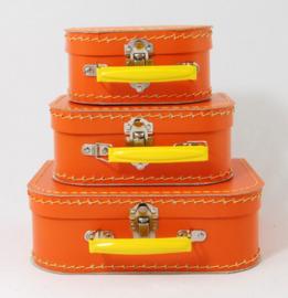 Kinderkoffertje |  Oranje