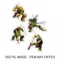 PS Teenage Mutant Ninja Turtles Figuur kaarsjes