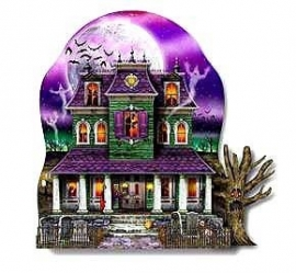 Center piece / Hauted house - spookhuis