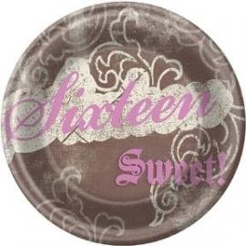 Sweet Sixteen feestartikelen