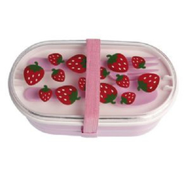 Bento box / lunchbox - aardbeien