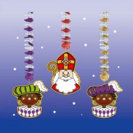 Sinterklaas hangdecoratie