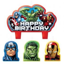 Avengers / feest kaarsjes