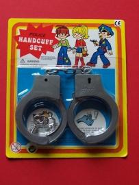 Politie Handboeien plastic
